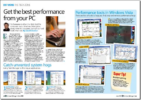 Windows Vista Magazine Article