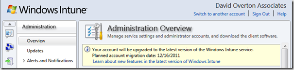 Alert - in Windows Intune - Administration Console - crop